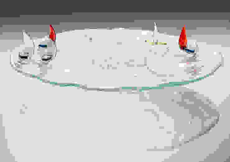 Exclusive glass bowls and trays – fused glass od TransLight Sp. z o.o. Rustykalny