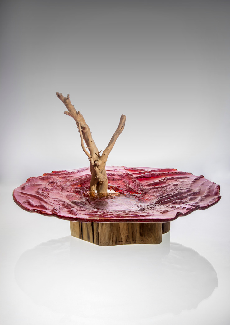Exclusive glass bowls and trays – fused glass od TransLight Sp. z o.o. Śródziemnomorski