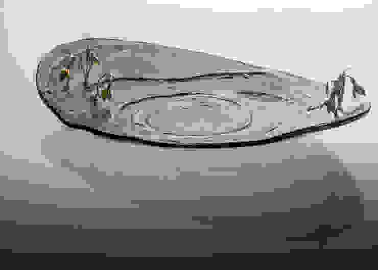 Exclusive glass bowls and trays – fused glass od TransLight Sp. z o.o. Minimalistyczny