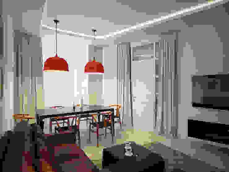 Квартира Столовая комната в стиле модерн от My-Logic Модерн