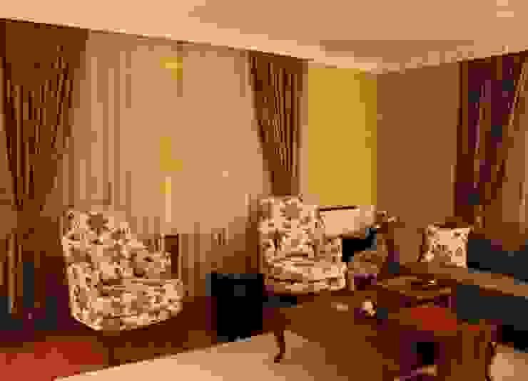 Akkaya's Family Home Modern Oturma Odası NTG Mimarlık Modern