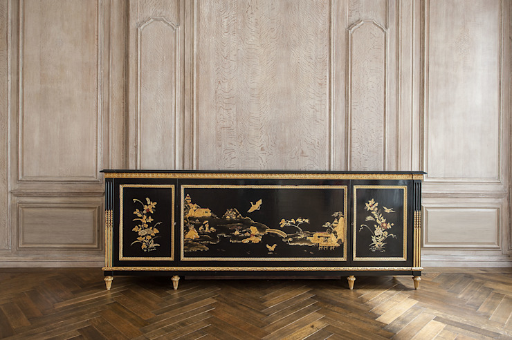 Traditional Chinoiserie Decoation and Hand Lacquer: asian  by Rupert Bevan Ltd, Asian