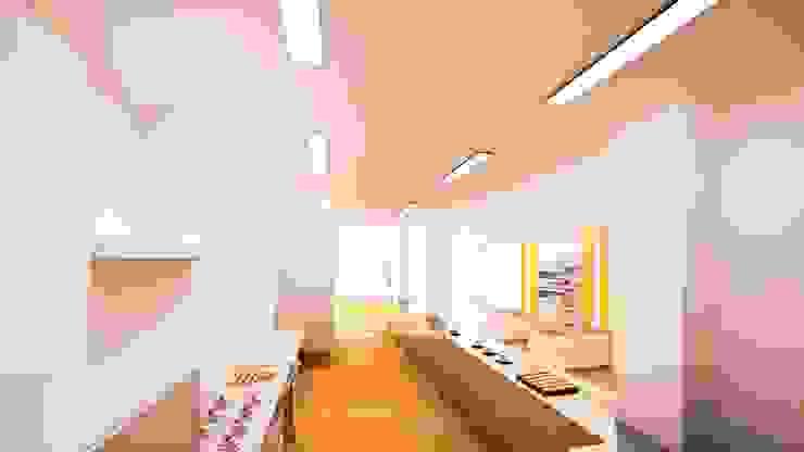 Propuesta Pastelería & Obrador Espacios comerciales de estilo moderno de GodoyArquitectos Moderno