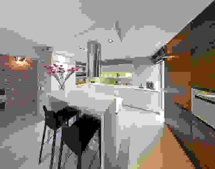 Modern Kitchen by Pracownia Świętego Józefa Modern