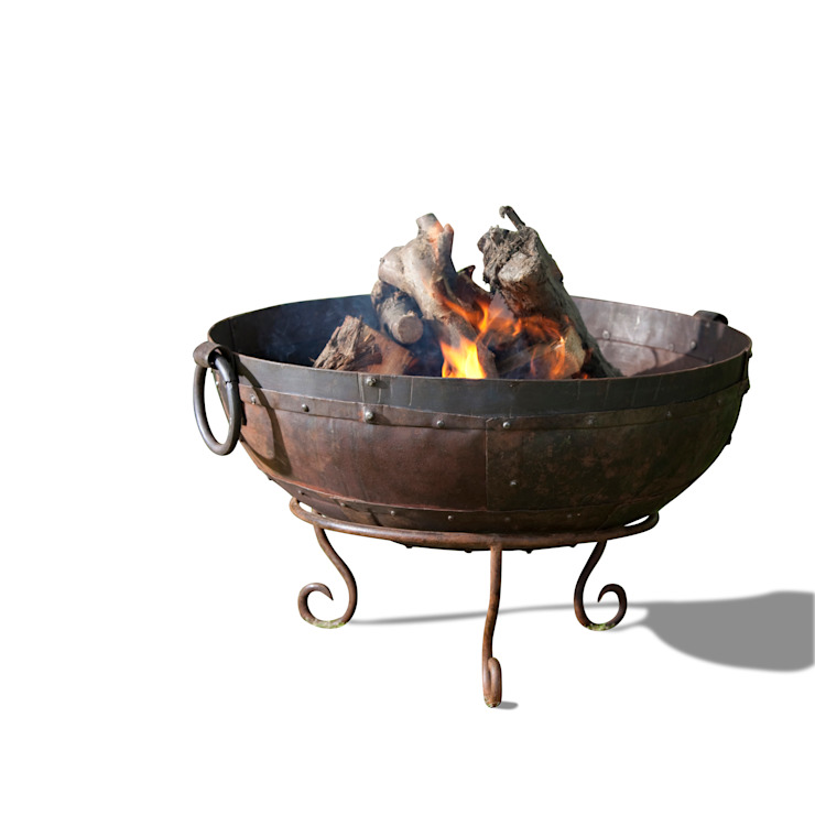 Fire bowl: industrial  by Hen and Hammock, Industrial