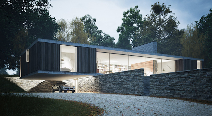 The Quest Modern houses by Strom Architects Modern