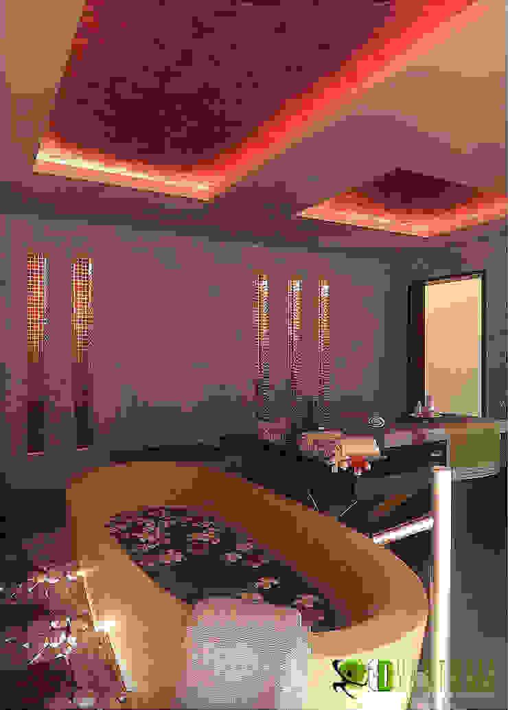 Kommerzielle 3D Interior Rendering Spa Modern hotels by Architectural Design Studio Modern