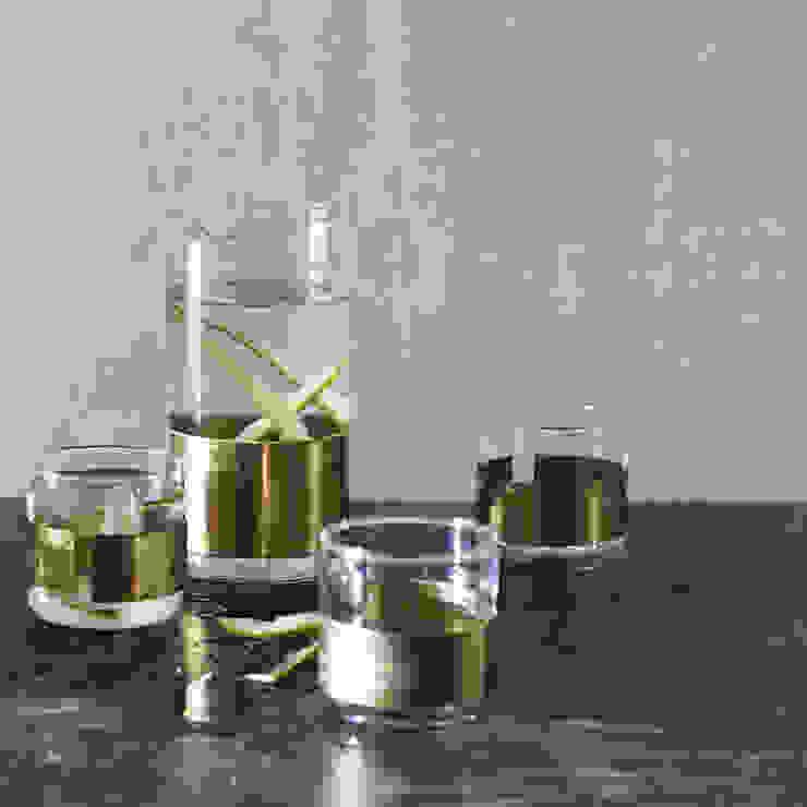 Aran Cuffed Carafe & Glass de Rowen & Wren Asiático