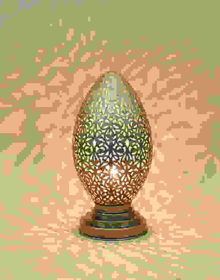 Moroccan Table Lamp: mediterranean  by Moroccan Bazaar , Mediterranean