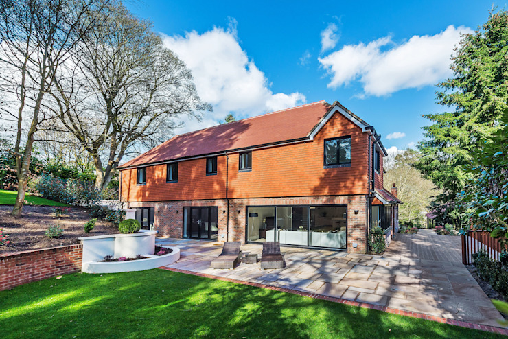 Farnham extension Eclectic style houses by C7 architects Eclectic