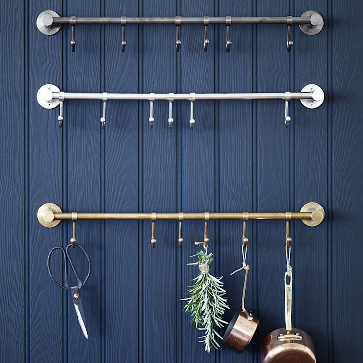 Bitra Hook Rail: industrial  by Rowen & Wren, Industrial