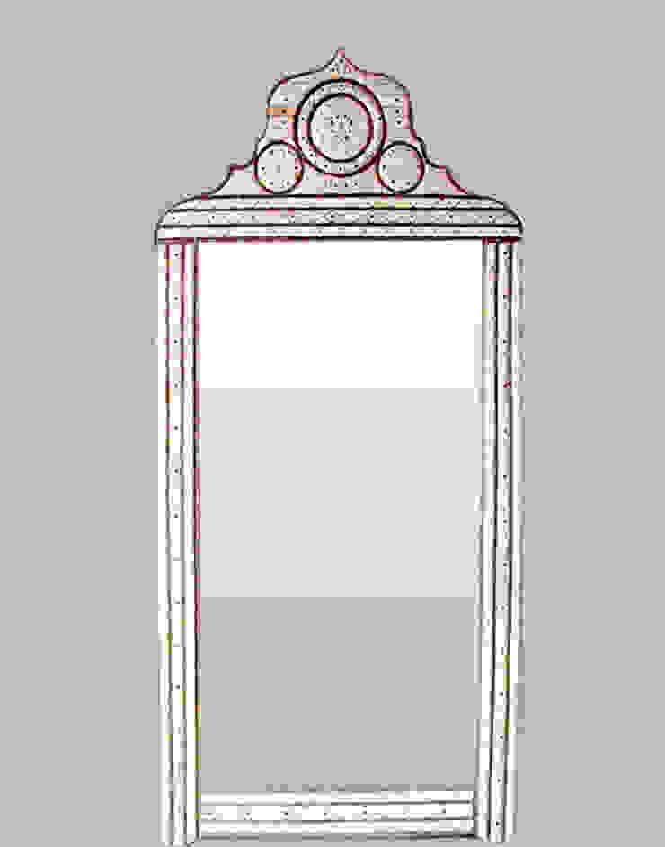Moroccan Mirror: mediterranean  by Moroccan Bazaar , Mediterranean