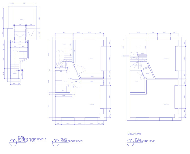 Peponi House - Original Plan Layout by STUDIO [D] TALE