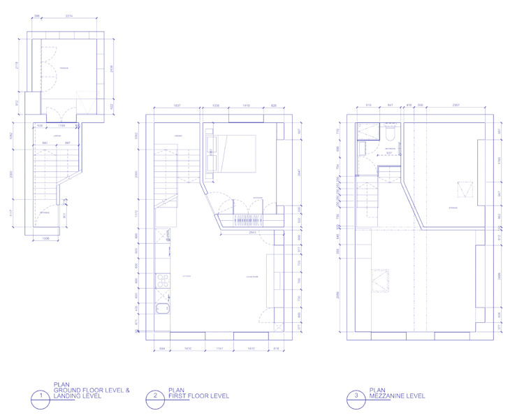 Peponi House - Proposed Plan Layout โดย STUDIO [D] TALE