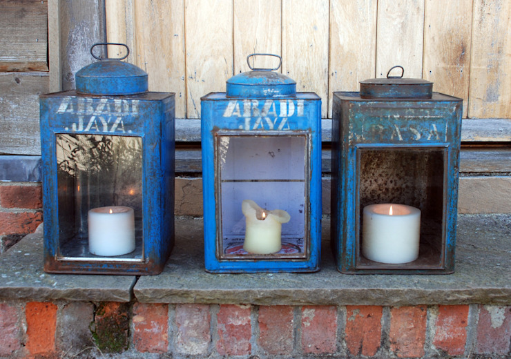Vintage Caddy Lanterns od Hen and Hammock Kolonialny