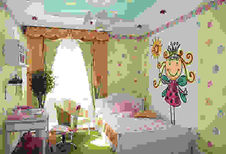 Дизайн-проект детской комнаты. Детская комнатa в классическом стиле от ИнтеРИВ Классический