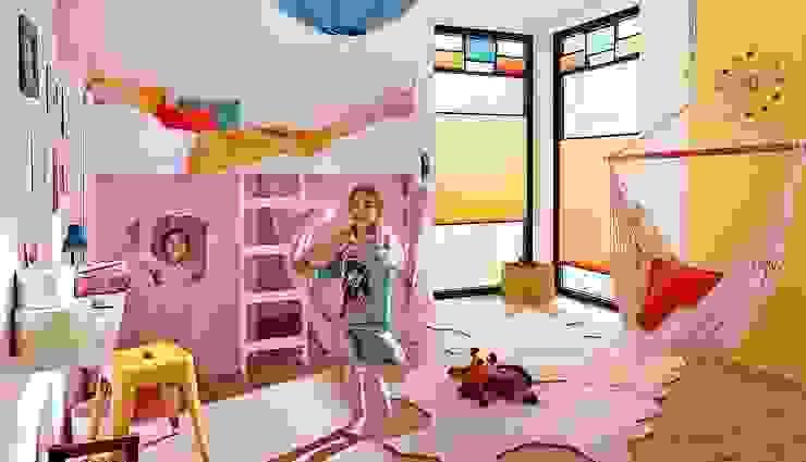 Tende per camerette Lasciati Tendare Stanza dei bambini moderna