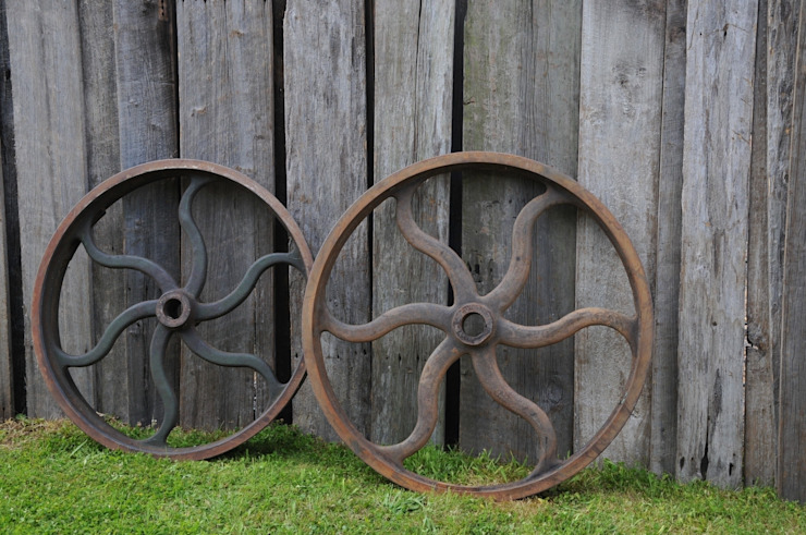 Industrial metal wheels de Tramps (UK) Ltd Industrial