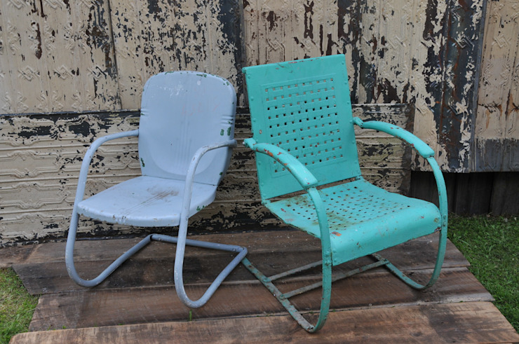 Garden chairs de Tramps (UK) Ltd Rústico