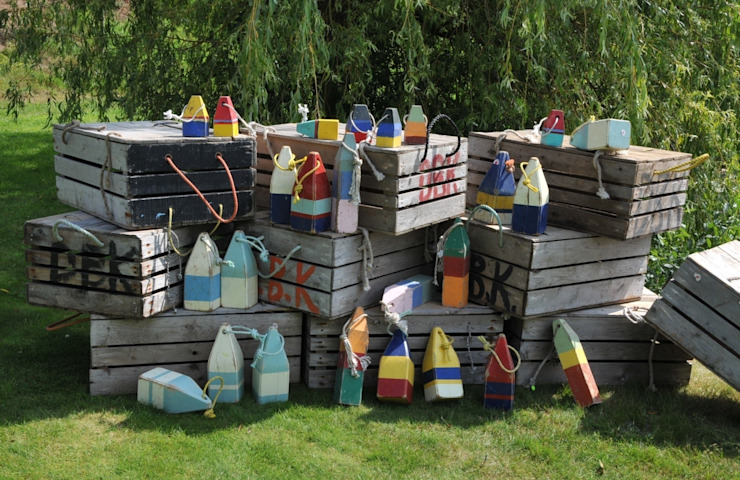 Nautical items, Buoys and Lobster crates de Tramps (UK) Ltd Rústico