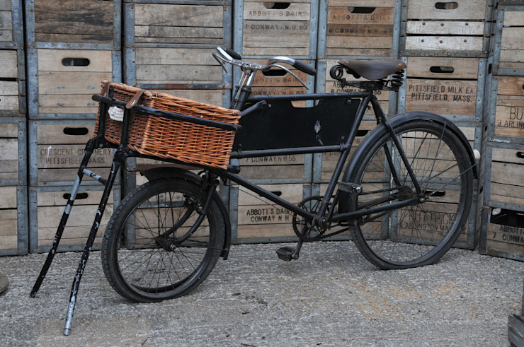 Vintage Butchers Bike de Tramps (UK) Ltd Rústico