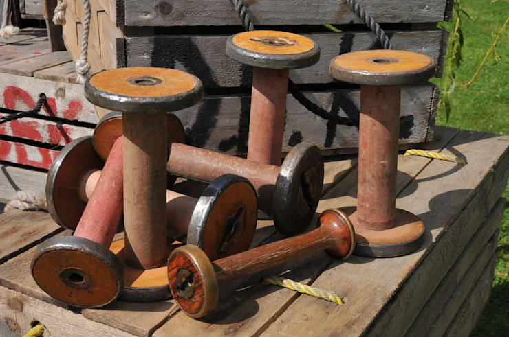 Industrial bobbins de Tramps (UK) Ltd Industrial