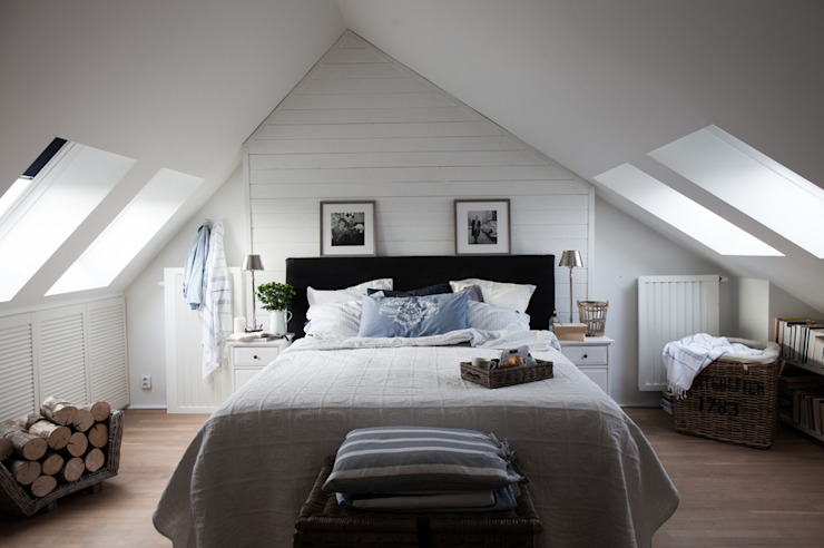 Scandinavian style bedroom by Studio Inaczej Scandinavian