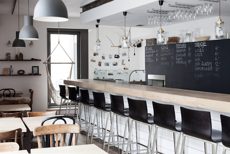 Tapas Bar Sueño od Studio Inaczej Skandynawski