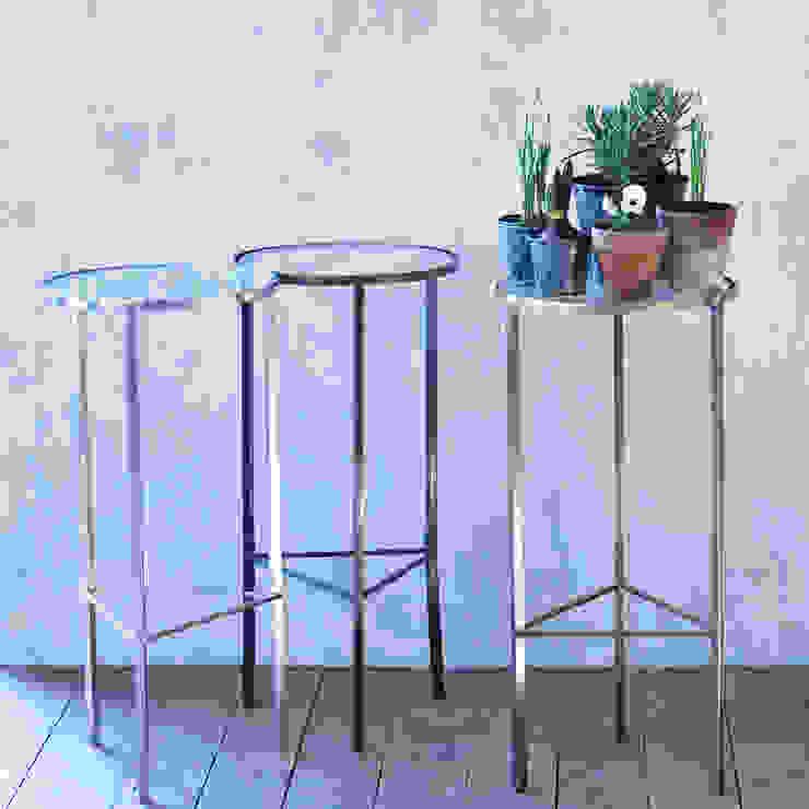 Phebe Side Table: minimalist  by Rowen & Wren, Minimalist