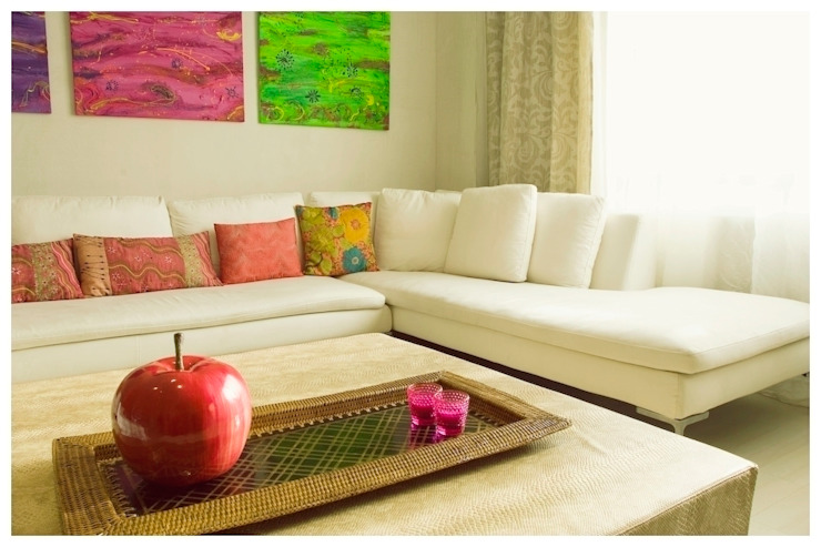 Eclectic style living room by Cardellach Interior & Events Eclectic