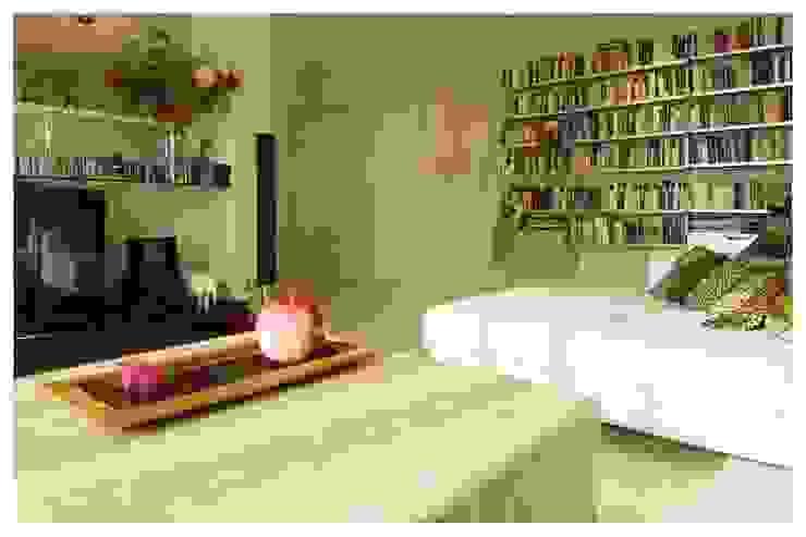 Blanco Salones de estilo ecléctico de Cardellach Interior & Events Ecléctico