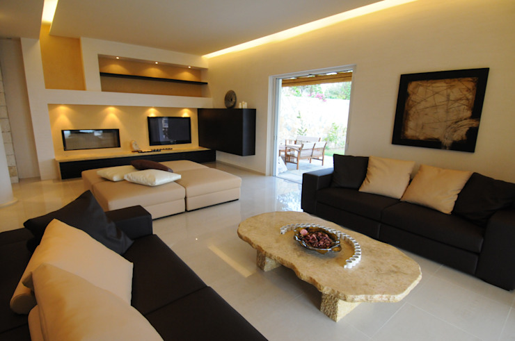 Living room by CARLO CHIAPPANI  interior designer, Mediterranean