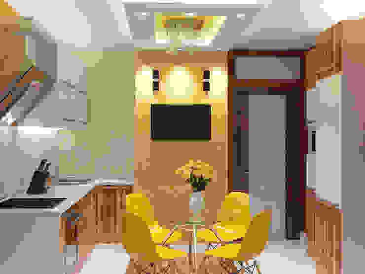 Дизайн-проект кухни. Кухня в стиле минимализм от ИнтеРИВ Минимализм