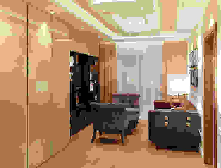 Дизайн-проект гостиной. Гостиная в стиле модерн от ИнтеРИВ Модерн