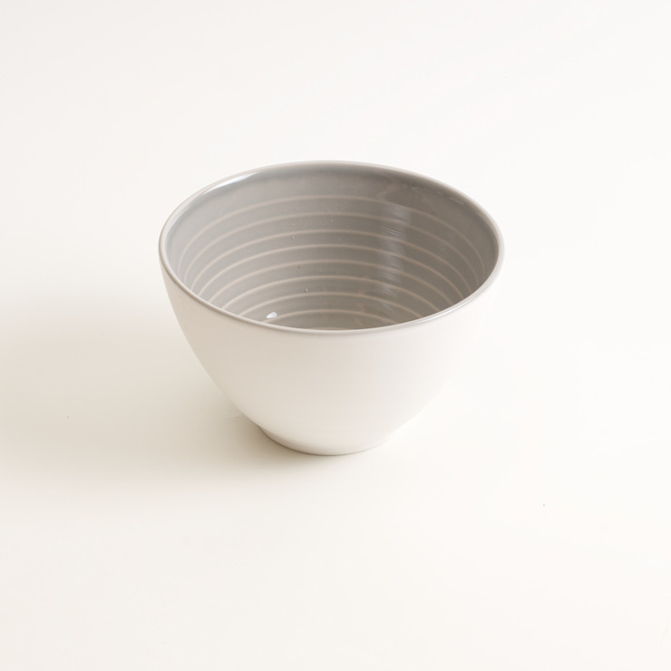 Tactile porcelain bowl: modern  by Linda Bloomfield, Modern
