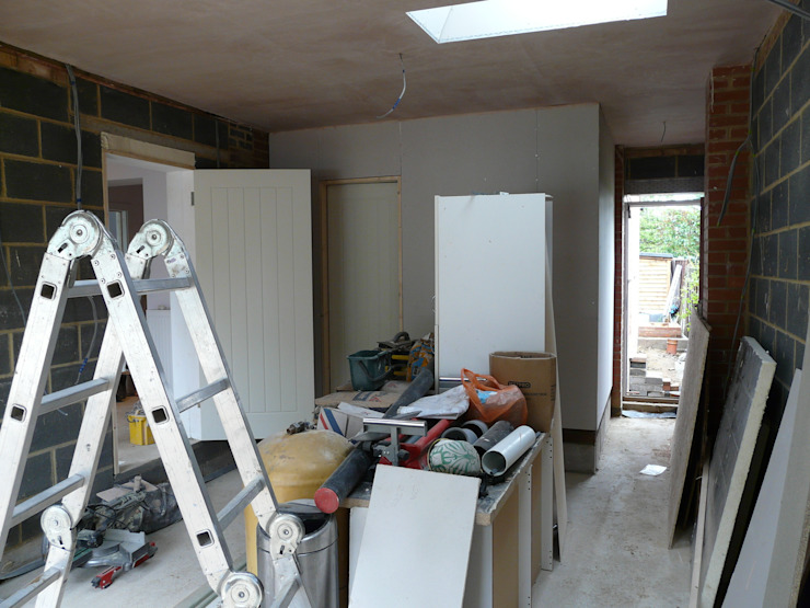 Garageflex feature on Sarah Beeny's Double Your House - Before shot by Garageflex
