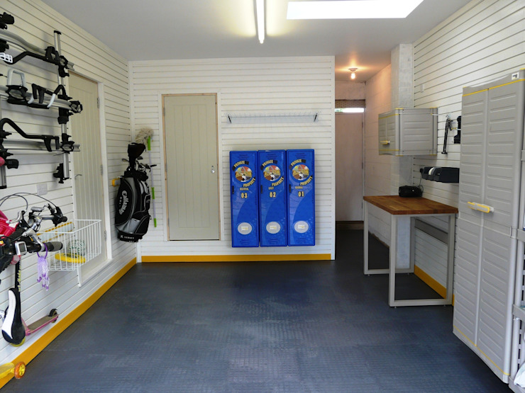 Garageflex feature on Sarah Beeny's Double Your House - After shot by Garageflex
