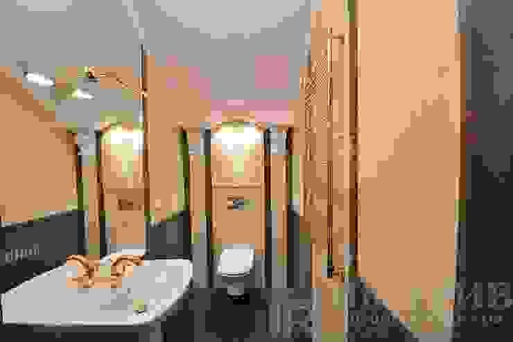 Дизайн-проект интерьера санузла. Ванная в классическом стиле от ИнтеРИВ Классический