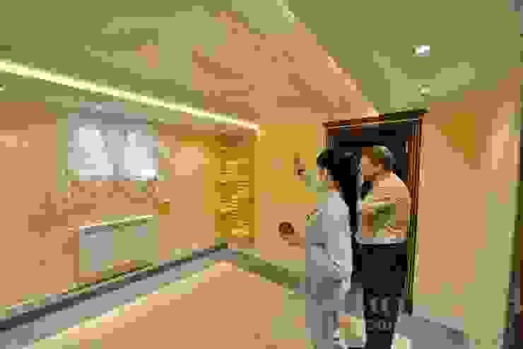 Дизайн-проект интерьера тренажерного зала. Тренажерный зал в классическом стиле от ИнтеРИВ Классический