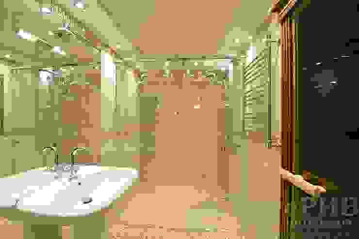 Дизайн-проект интерьера душевой комнаты. Ванная в классическом стиле от ИнтеРИВ Классический