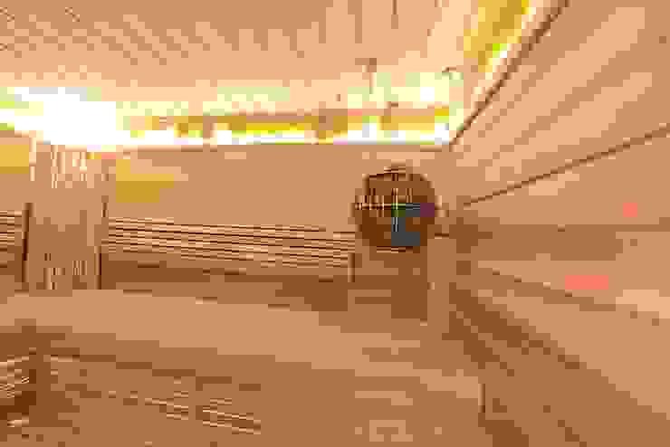 Дизайн-проект интерьера сауны расположенной в ванной комнате. Ванная в классическом стиле от ИнтеРИВ Классический
