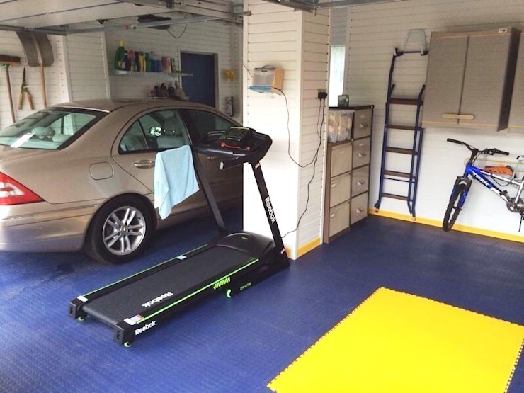 Need Inspiration for your own Home Gym? de Garageflex