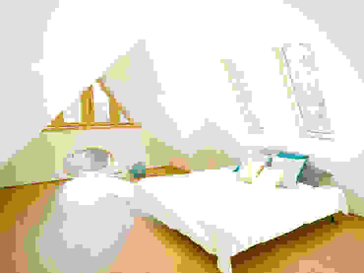 S82 ein modernes Baumhaus Moderne Schlafzimmer von rundzwei Architekten Modern