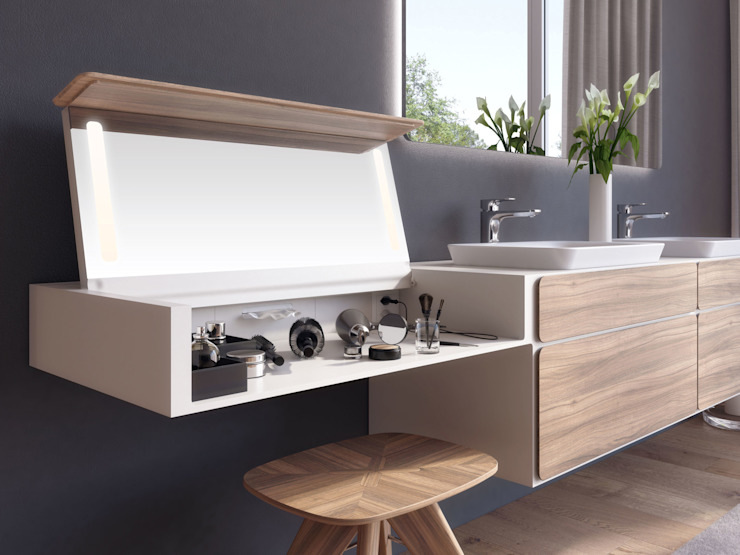 talsee mood mit beauty desk: modern  von StauffacherBenz,Modern