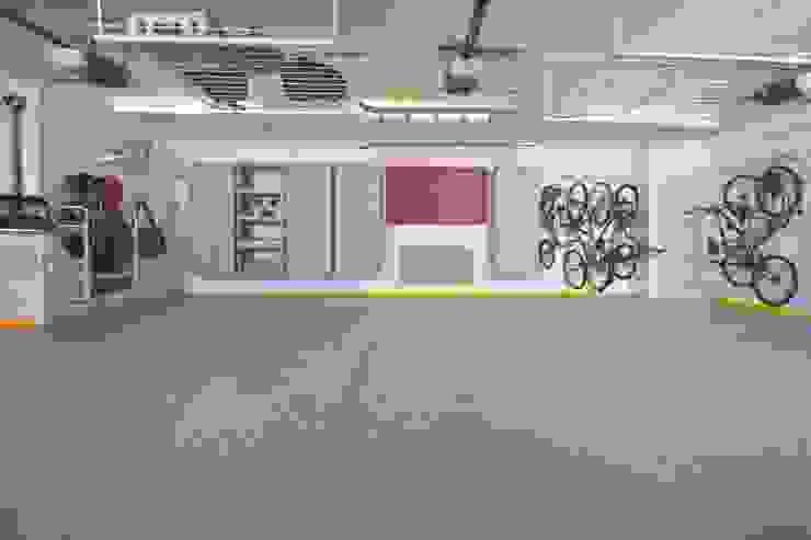 A stunning triple garage makeover by Garageflex