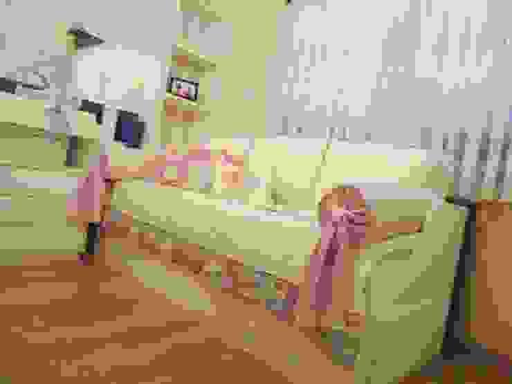 Ésse arquitetura e interiores - Dormitório de bebê menina Ésse Arquitetura e Interiores Quarto infantil clássico