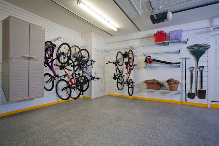 Tidy up those bikes de Garageflex