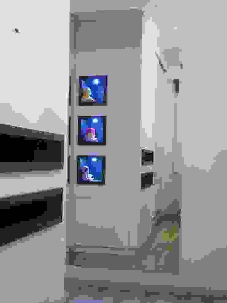 Arquitetura de interiores - Dormitório de bebê menina Ésse Arquitetura e Interiores Quarto infantil clássico