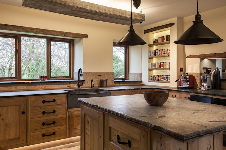 View from the Lounge PAN|brasilia UK Ltd Eclectic style kitchen