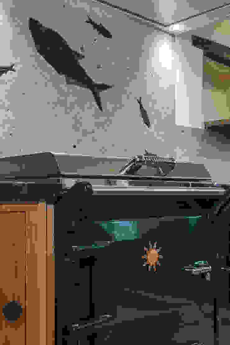 Everhot Range cooker PAN|brasilia UK Ltd Eclectic style kitchen